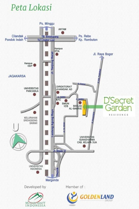 DSecretGarden Map 2015